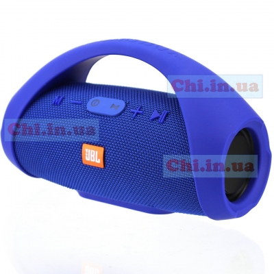 Bluetooth колонка JBL BOOMS BOX MINI E10 Usb SD FM (реплика++) цвет Синий