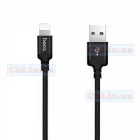 USB кабель Hoco X14 Times Speed Lightning iPhone 2А 1м Черный