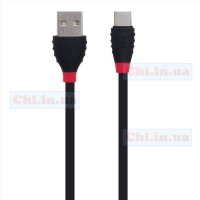 Кабель USB Hoco X27 Type-C Excellent charge 1.2м 2.4A Черный