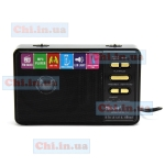 Радио RX-113 Golon фонарик powerbank FM usb TF mp3 черное