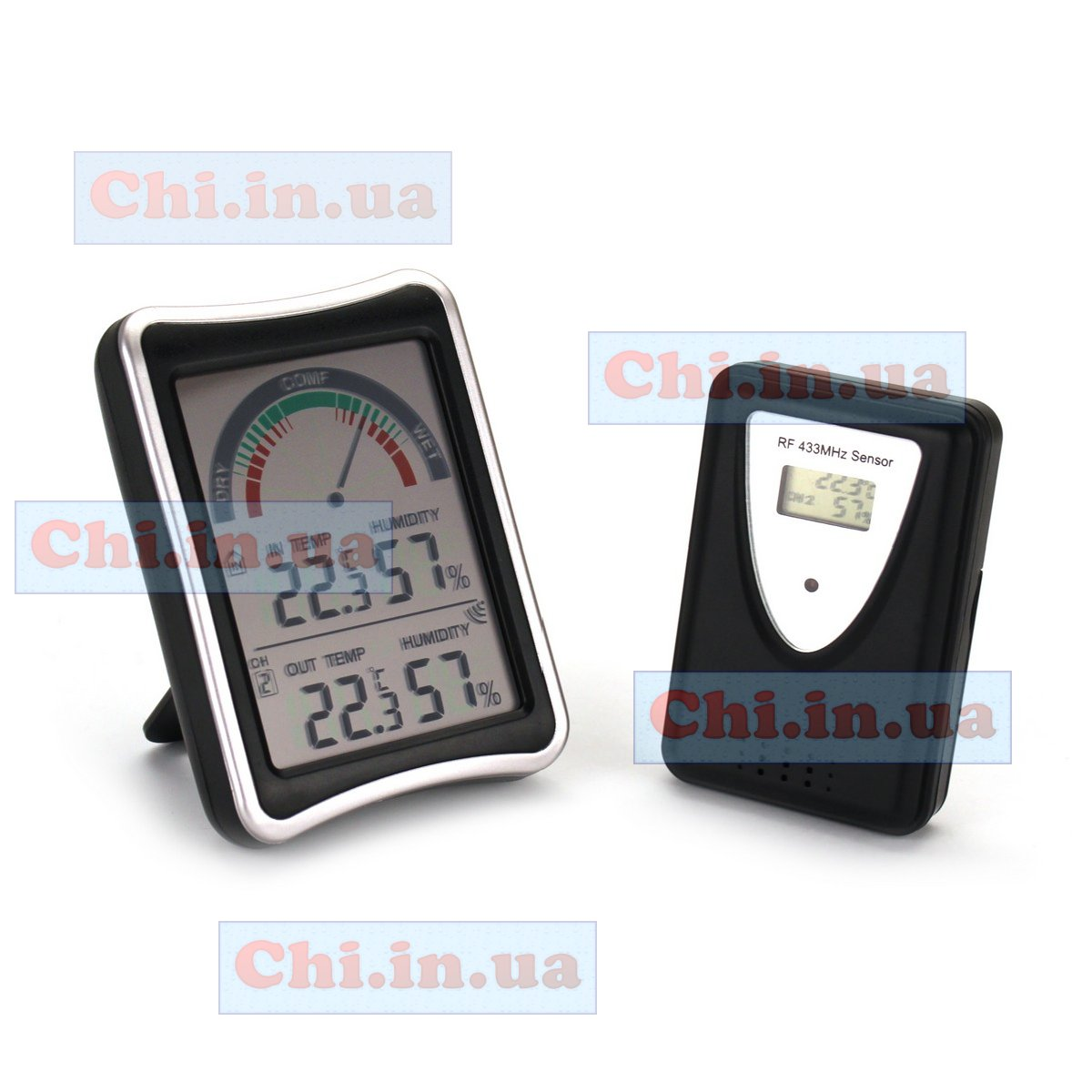 DHT-108  wireless room thermometer hygrometer AMTAST