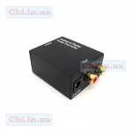 Analog R/L to Digital Coax/Toslink Audio Converter