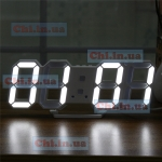 Clock DS-6609 white light