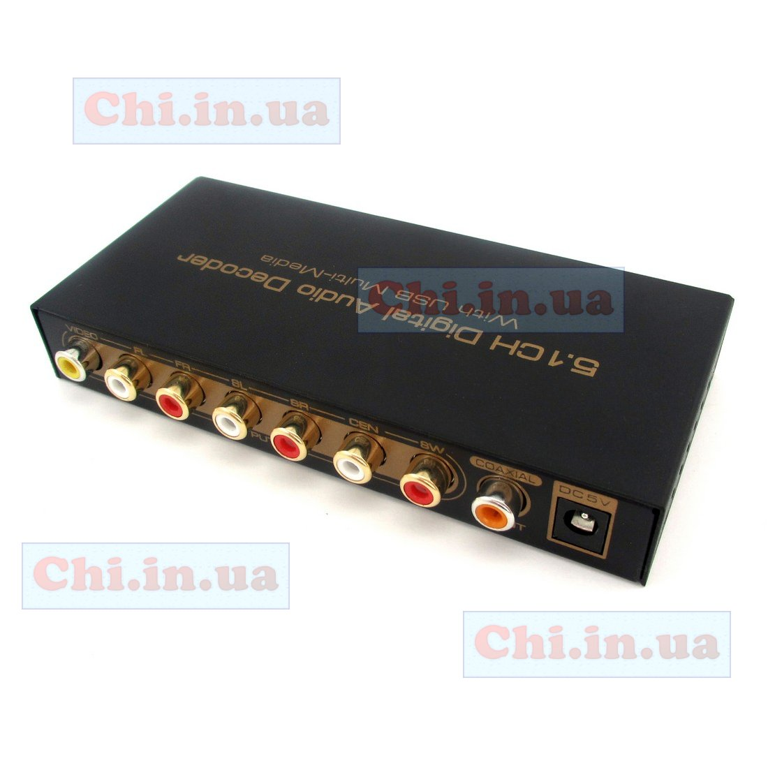 Декодер Digital Optical S/PDIF to Analog 5.1