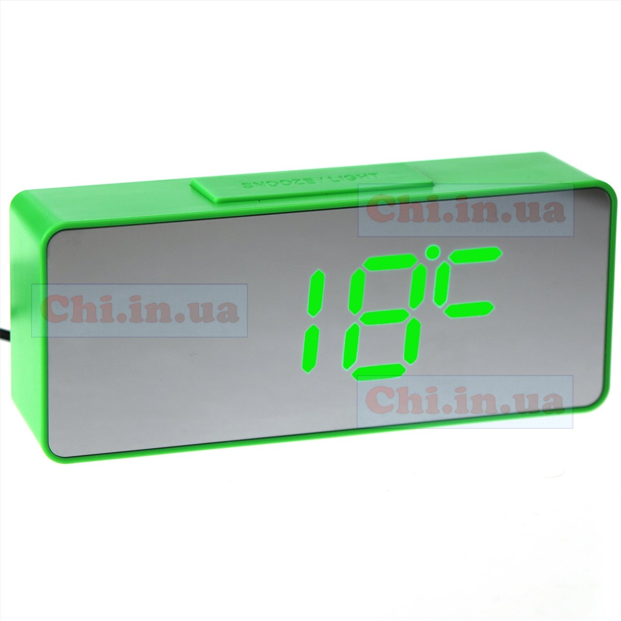 clock VST 886Y-4 green